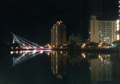 Tainan Bridge By Night