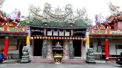 Temple in Shuili