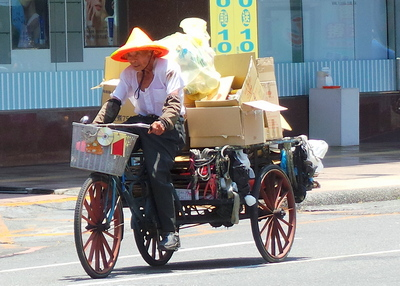 Tricycle in Yilan