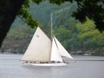 Traditional Sailboat