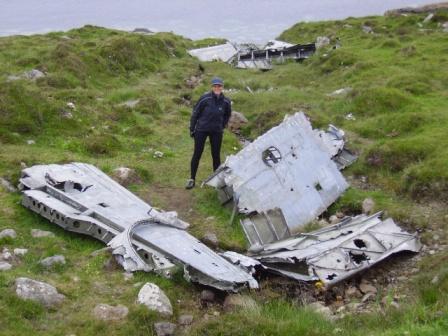 Wrecked Catalina Flying Boat