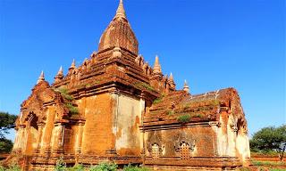 Temple in Myinkaba