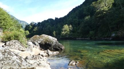 Campsite river