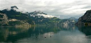 Evening View over Lake Fluelen