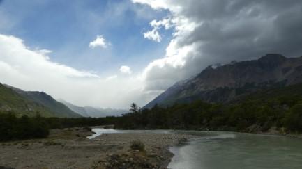 Rio Canadon valley