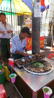 Kebab Seller