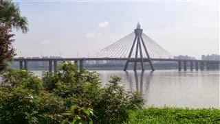 Olympic Bridge Seoul Over The River Han