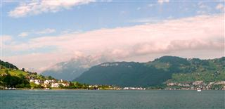View Over Lake Luzern