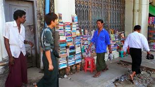 Street Book Stalls