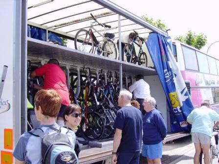 The Bike Express Bus
