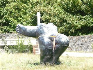 Fat Lady Sculpture