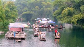 Guangxi Bamboo Rafts
