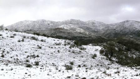Snow on the Sierra de Filabres