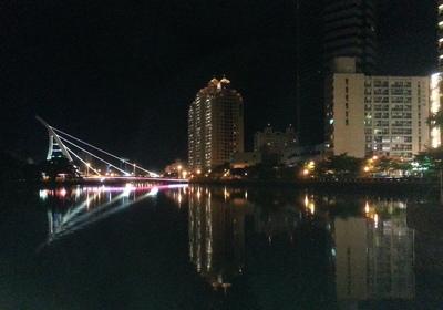 Tainan Bridge By Night