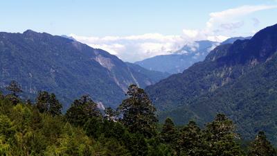 First Sight of Taroko Gorge