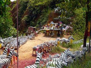 Zebra Shrine